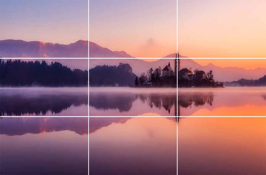 rule of thirds composition