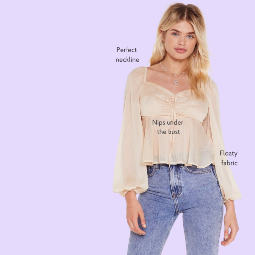 best blouses for big boobs