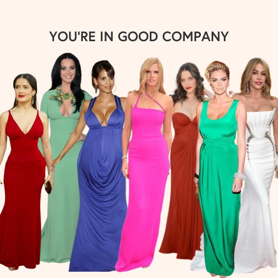 celebrities with big boobs